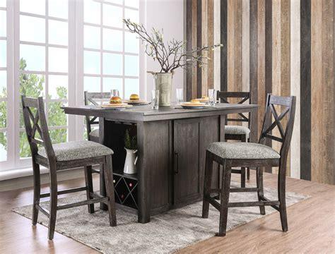 Farmhouse-Counter-Height-Kitchen-Table
