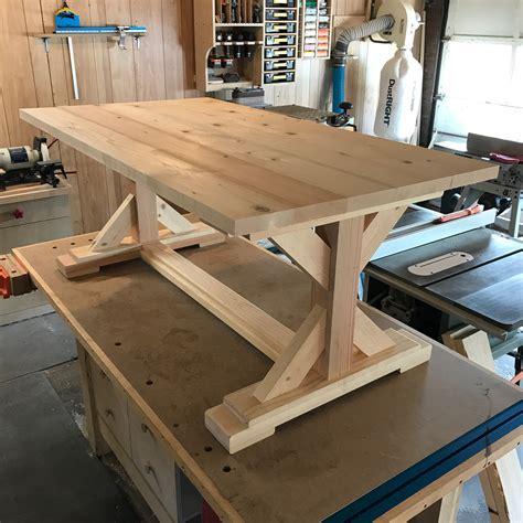 Farmhouse-Craft-Table
