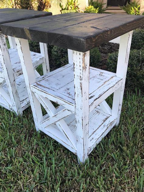 Farmhouse-End-Tables-Diy