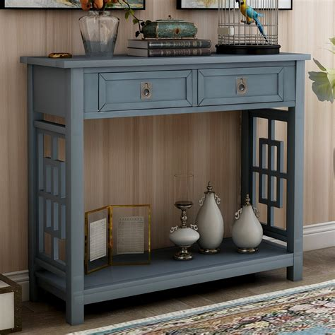 Farmhouse-Entry-Table-With-Drawers