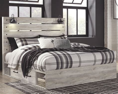 Farmhouse-Fabric-Bed-Frame-King