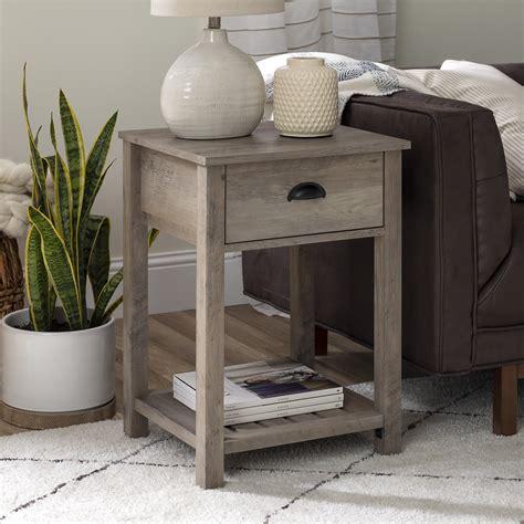 Farmhouse-Gray-End-Tables