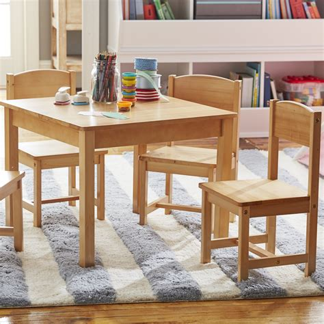 Farmhouse-Kids-Table-And-Chair-Set