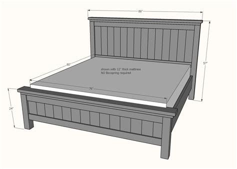 Farmhouse-King-Size-Bed-Plans