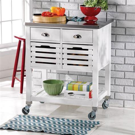 Farmhouse-Kitchen-Cart