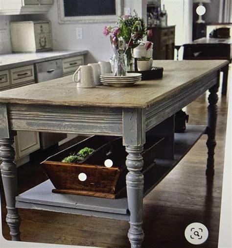 Farmhouse-Kitchen-Table-Island