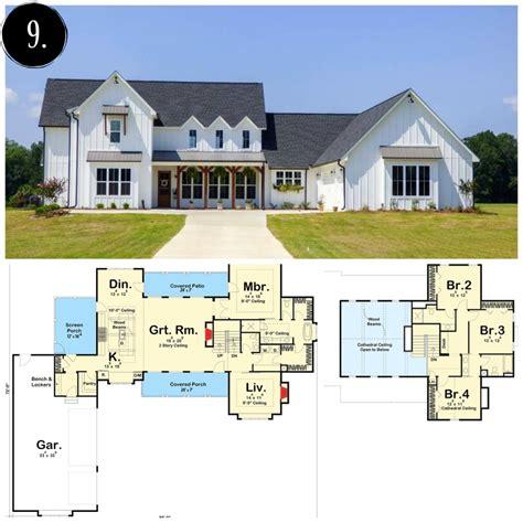 Farmhouse-Open-Floor-House-Plans