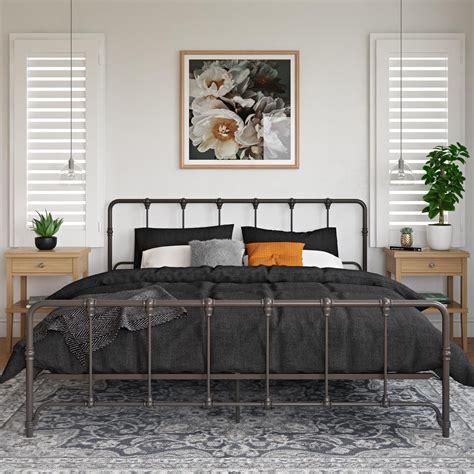 Farmhouse-Platform-Bed-King