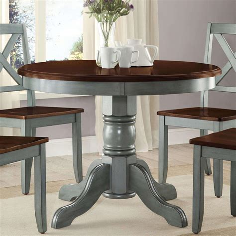 Farmhouse-Round-Dining-Table-Set