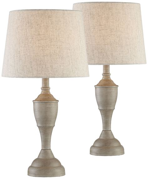 Farmhouse-Side-Table-Lamps
