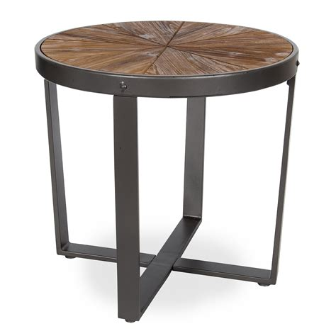 Farmhouse-Side-Table-Metal