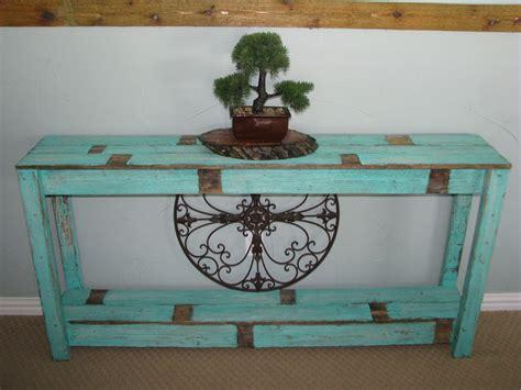 Farmhouse-Sofa-Table-Aqua