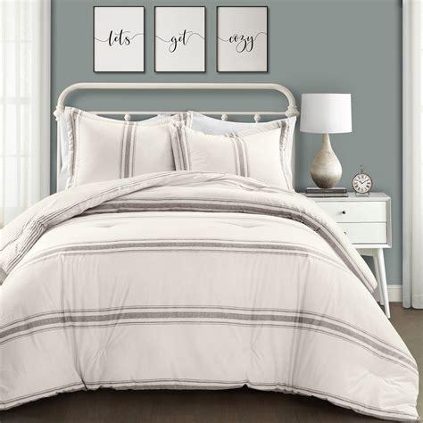 Farmhouse-Stripe-Bedding-Set