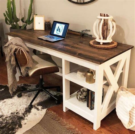 Farmhouse-Style-Computer-Desk-Plans