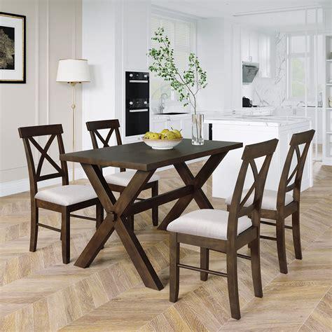 Farmhouse-Table-And-4-Chair-Set