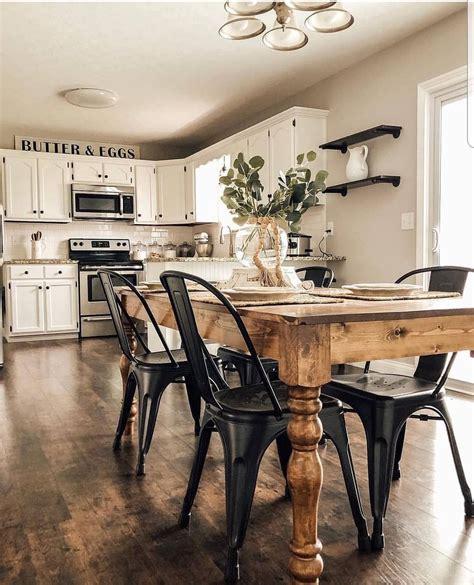 Farmhouse-Table-And-Chair-Ideas