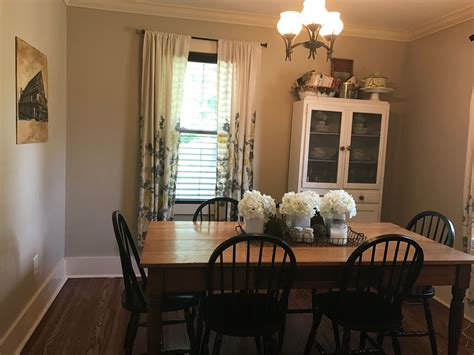 Farmhouse-Table-And-China-Cabinet