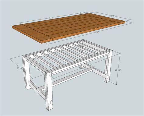 Farmhouse-Table-Drawings