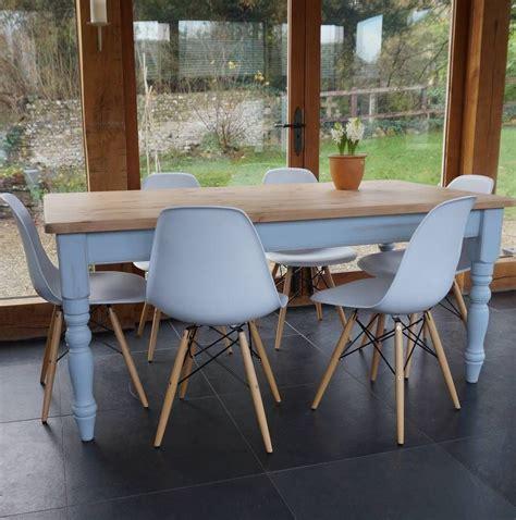 Farmhouse-Table-Eames-Chairs