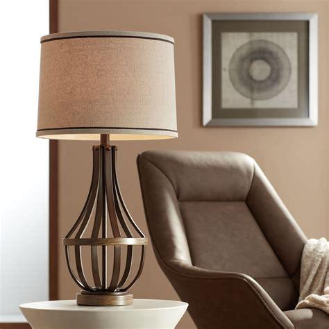 Farmhouse-Table-Lamp-Bronze