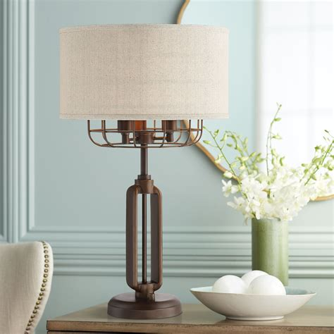 Farmhouse-Table-Lamp-Shades
