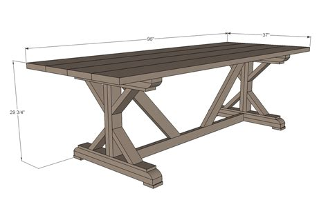 Farmhouse-Table-Length