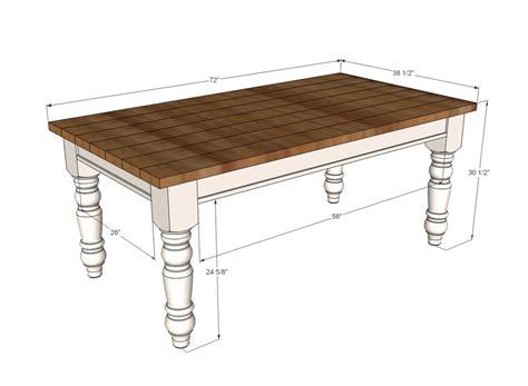 Farmhouse-Table-Size