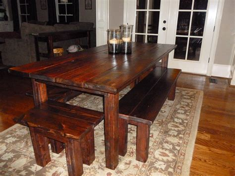 Farmhouse-Table-With-Bench-Seats-12
