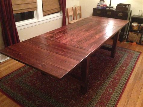 Farmhouse-Table-With-Extension-Plans