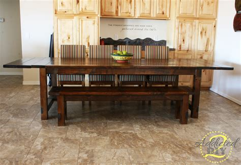 Farmhouse-Tables-With-Extensions-Diy