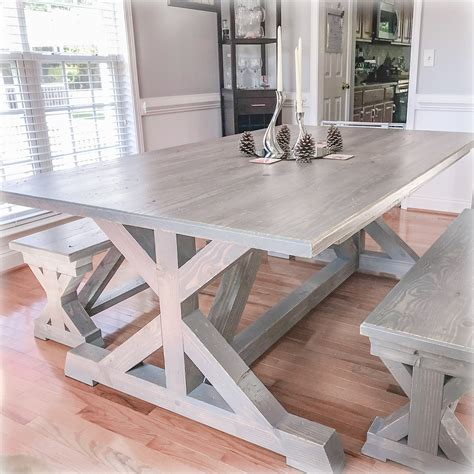 Farmhouse-Trestle-Table-With-Bench