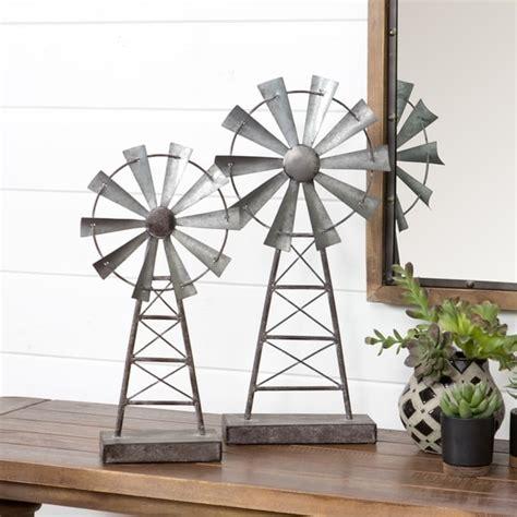 Farmhouse-Windmill-Table-Decor