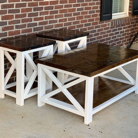 Farmstyle Coffee Table Diy Typical Dimensions