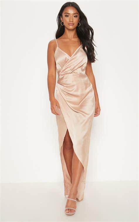 4b504a93872 Shop For Low Price Wrap Dresses Tie Waist & Wrap Around Dress Boohoo ...