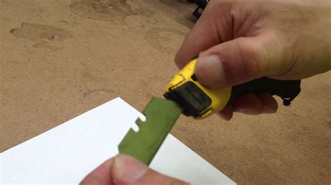Fatmax Knife How To Change Blade
