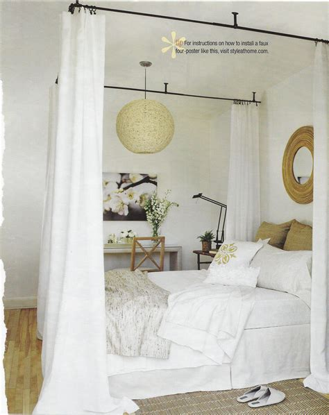 Faux Canopy Bed Diy Ideas
