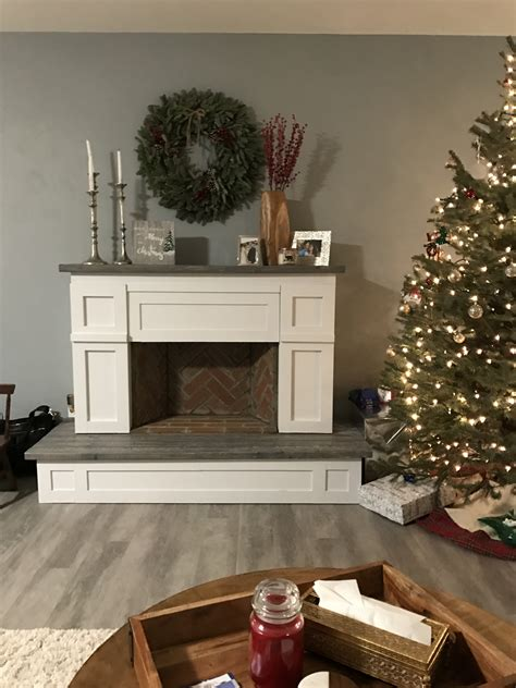 Faux Fireplace Building Plans
