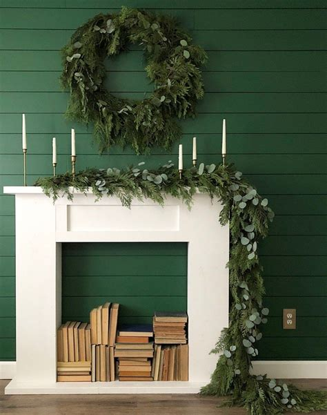 Faux Mantel Diy