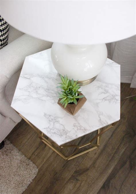 Faux Marble Table Diy Ideas