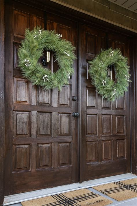 Faux Wood Front Door Diy