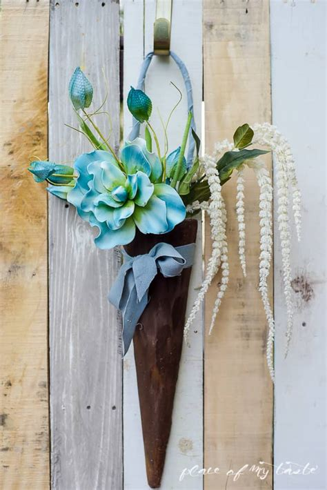 Faux Wood Front Door Diy Decoration