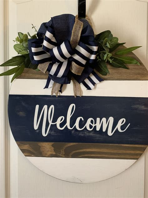 Faux Wood Front Door Diy Wreaths