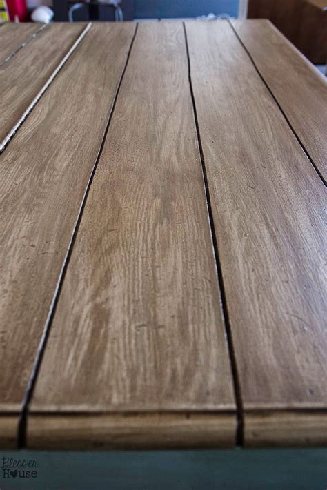 Faux Wood Table Finishes
