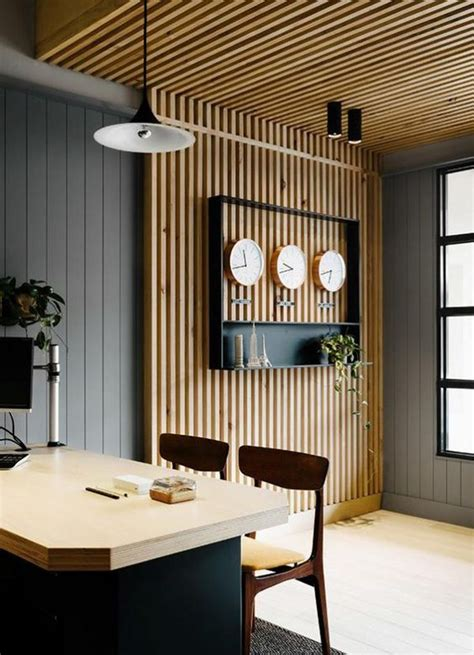 Faux Wood Wall Diy Pinterest