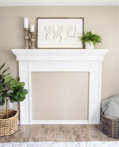 Faux-Mantel-Diy