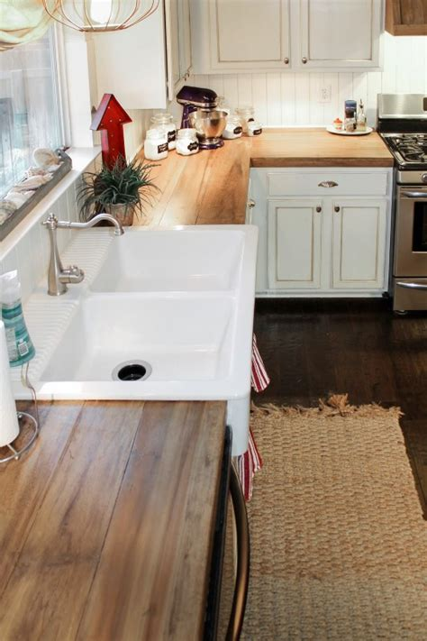 Faux-Wood-Countertops-Diy