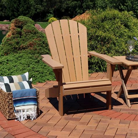 Faux-Wood-Outdoor-Adirondack-Chair