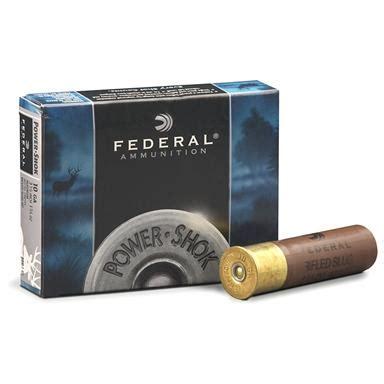Federal Classic 10 Gauge 3 1 2 1 3 4 Oz Slugs 5 Rounds And Blind Side Ammo 12 Gauge 3 13 8 Oz Bb Steel Shot