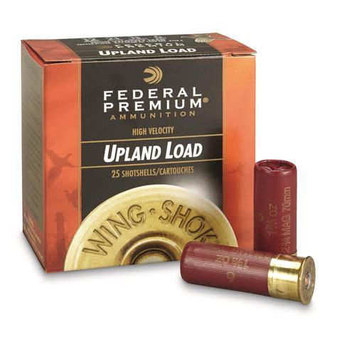 Federal Shotgun Shells 12 Gauge And Non Toxic Shotgun Shells
