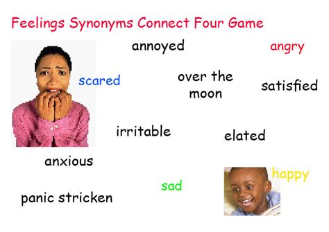 [pdf] Feelings Synonyms Connect Four Game Annoyed Over The .